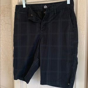 Quick Silver plaid shorts